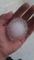 Hail in Georgia