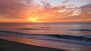Kure Beach NC Sunrise