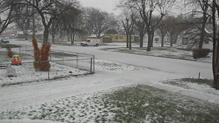 Freezing Rain/Hail/Snow/Thunderstorm Grand Island, Nebraska