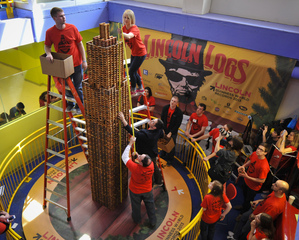 Lincoln Logs World Record