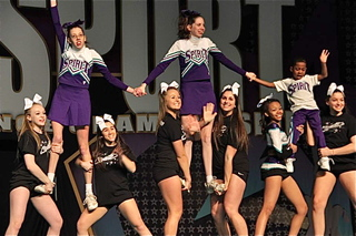 """Alexandrites"" Debuts at National Cheerleading Competition"