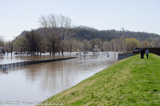 Mississippi River Flooding at Hannibal MO