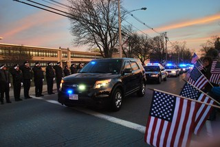 Sean Collier candle lighting