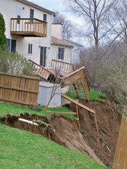 Landslides in East Peoria