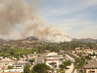 More than a grass fire in Glendale