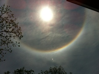 Halo / Nimbus Phenomenon Caught in New Jersey!