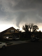 Tornado in Edmond, Oklahoma