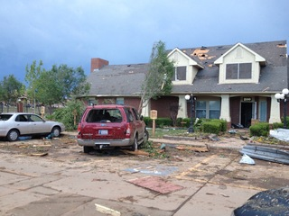 Moore, OK damage