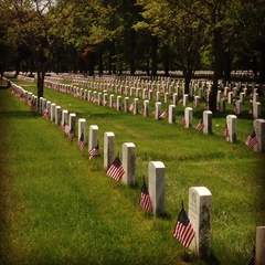 Pictures from Pinelawn National Cemetery Long Island