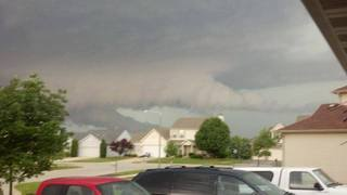 Funnel Clouds Near Plano, Illinois