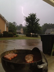 Steak and Brats in the Storm