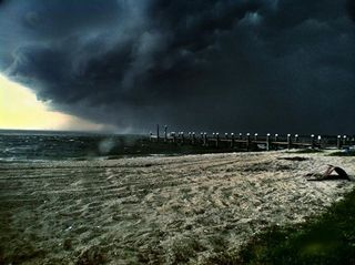 Piney Point, Maryland Storm