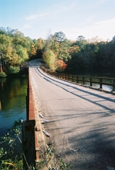 Old Bridge over the Coosa River