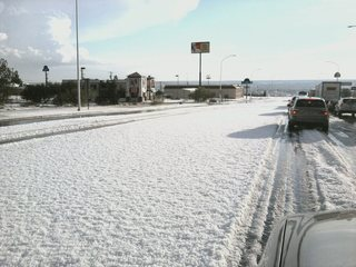 Hail in New Mexico