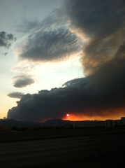 Mt Charleston Las Vegas wildfire