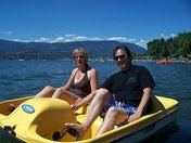 Power boating in Kelowna!