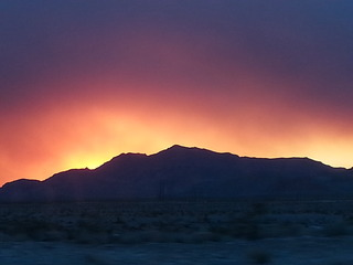 Coming from Utah on the 15 near Nellis Exit  taken by Judith Caban