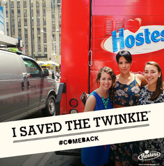 We saved the Twinkie!