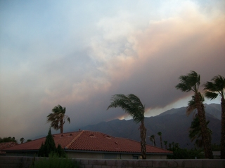 Mountain Fire~ Started around 1:45 pm July 15, Near Mountain Center, Hemet, Idyl