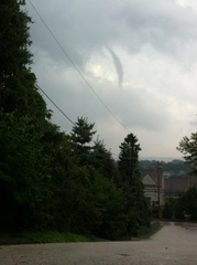 Funnel cloud Phoenixville PA