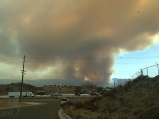 Ortega fire photo