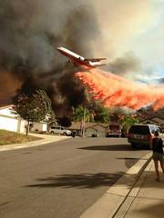 Lake Elsinore fire