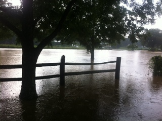 Calhoun County flood