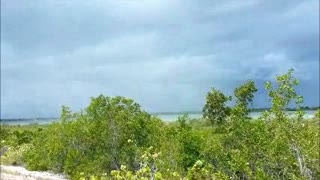 SURPRISE WATERSPOUT IN FLORIDA KEYS