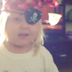 Happy Talk like a Pirate Day from my little Pirate 😜 #talklikeapirateday #sep