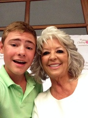 Blake's great day with Paula Deen