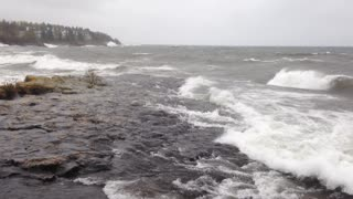 Stormy weather in Tofte, Minn