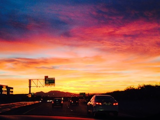 Sunrise Near Las Vegas