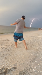 Skipping rocks and catching lightning!