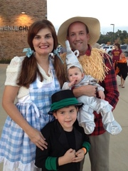 Our Wizard of Oz Halloween