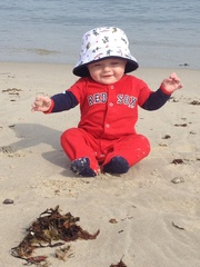 Cutest Red Sox fan from Plymouth, Ma