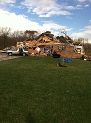 Tornado Damage in Washington, Illinois