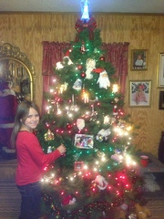 My granddaughters Christmas Tree