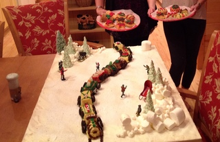 More amazing train cake