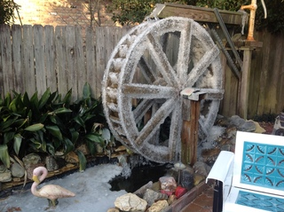 Frozen Waterwheel