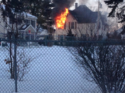 West side house fire