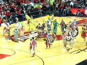 Native Americans at UL game
