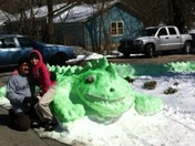 Spring & St Patrick's Theme Snow Iguana (it''s back!)