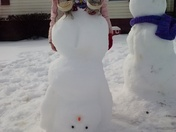 the Sigmon's snow creations