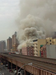 Explosion on 116th NYC