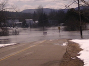 Flooding around Lancaster