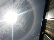 Solar Halo over Florida as seen by me, Robert Harness