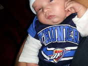 Baby Carter Munn, Thunder Up!!