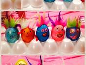 Jennifer's kids eggs