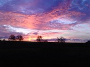 Elkins Easter Sunrise