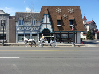 Bunny carriage in Frankenmuth MI